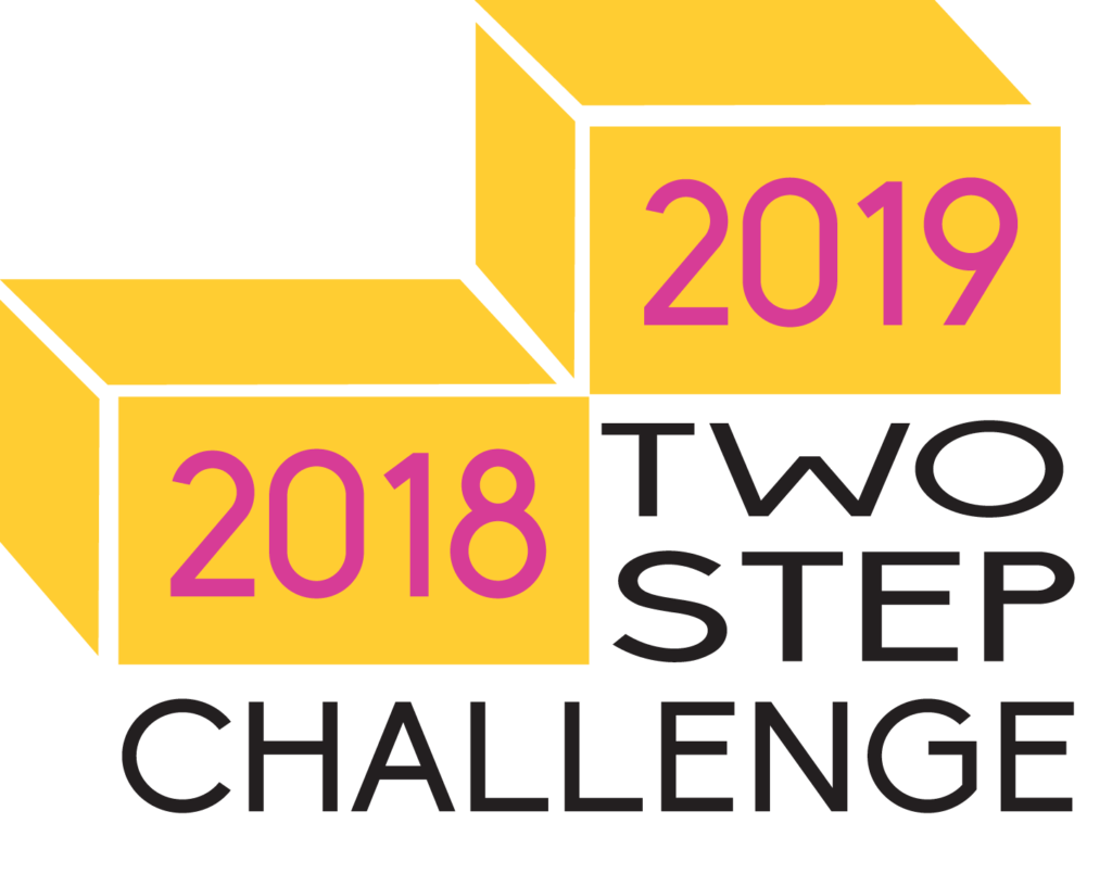 two step challenge logo